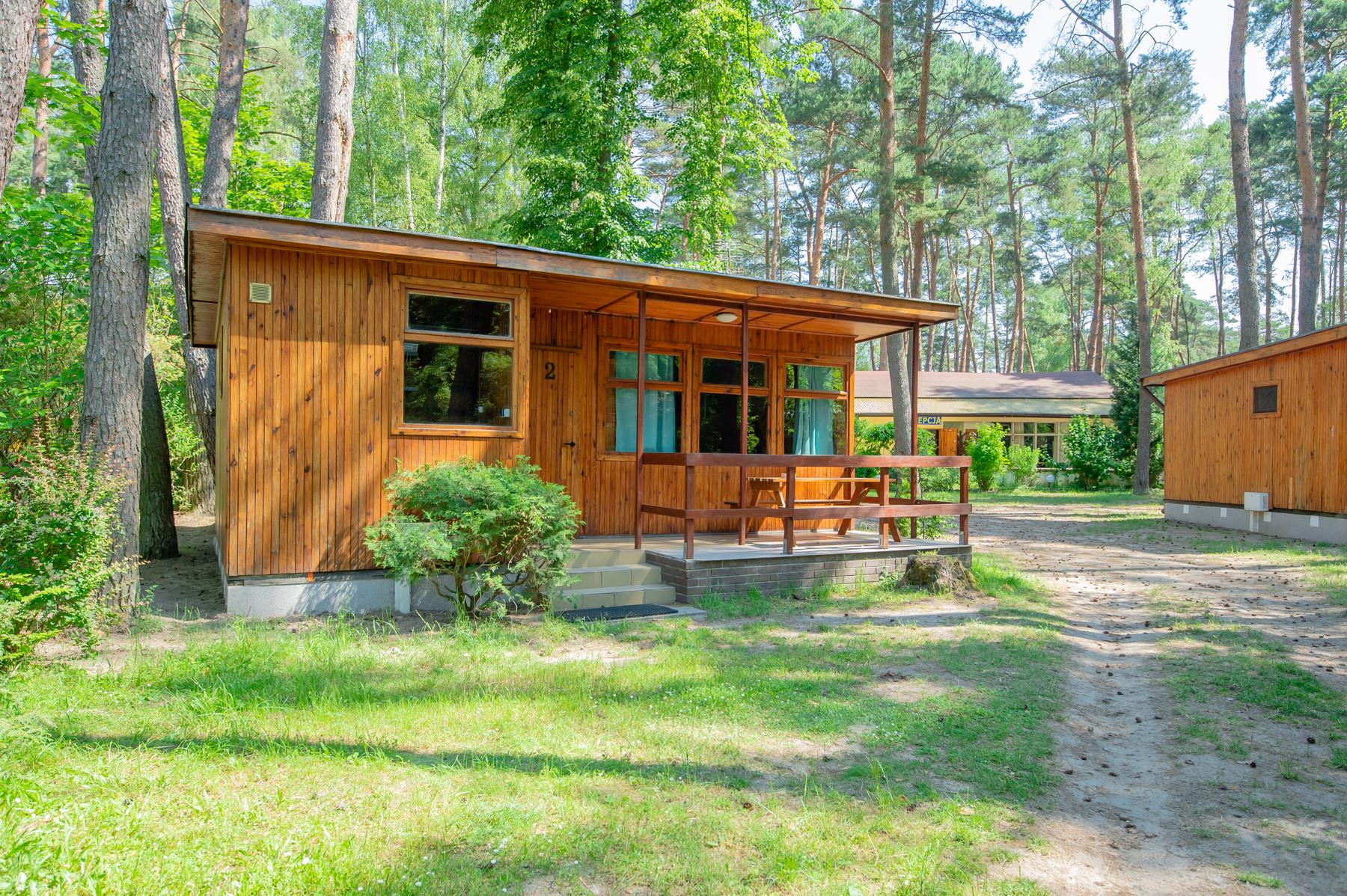 domek drewniany 5 osobowy